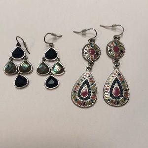 Earrings Boho Fashion Fun - 2 pairs
